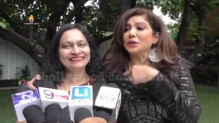 DR  Arundhati Hoskeri  with Singer Tinaa Ghaai At International Day at SBIS I Juhu