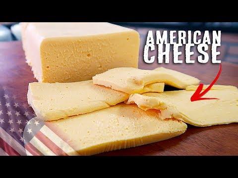 Como fazer AMERICAN CHEESE - Queijo Fundido - Receita em português