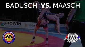 RINGEN - DMM FINALE (Vorkampf)  - 75kg GR - Timo Badusch  vs. Mathias Maasch