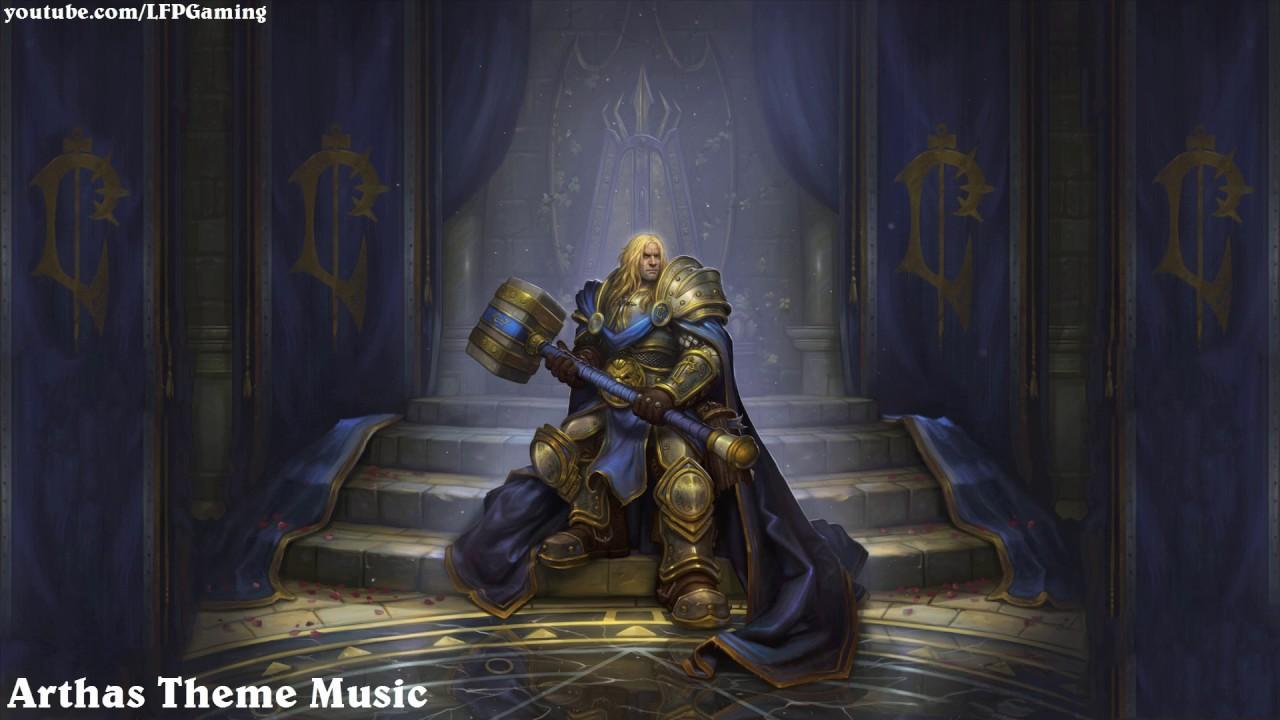 Hearthstone: Arthas Menethil Hero Music [Knights of the ...