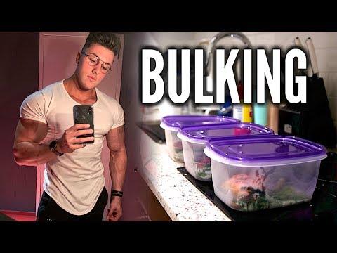 My BULKING Diet for 240lbs FULL DAY OF EATING w/ Brandon Harding