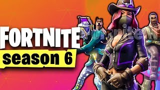 Fortnite SEASON 6 RELEASED 😱 All Info, Trailer, Battlepass, Skins | Season 6 German German