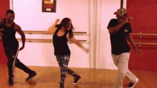 "BLACKGOLD Dancehall Class - Gappy Ranks & Busy Signal ""Money Finger"" (NYC) NEW Dance ""Winter Chill"""