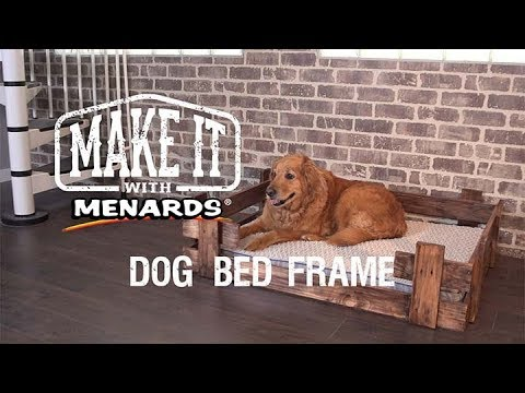 Dog Bed Frame - Make It With M...