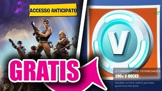 SKIN FREE! SALVA IL MONDO FREE! PASS FREE! V-BUCKS FREE! -Fortnite Talk-Fortnite ITA