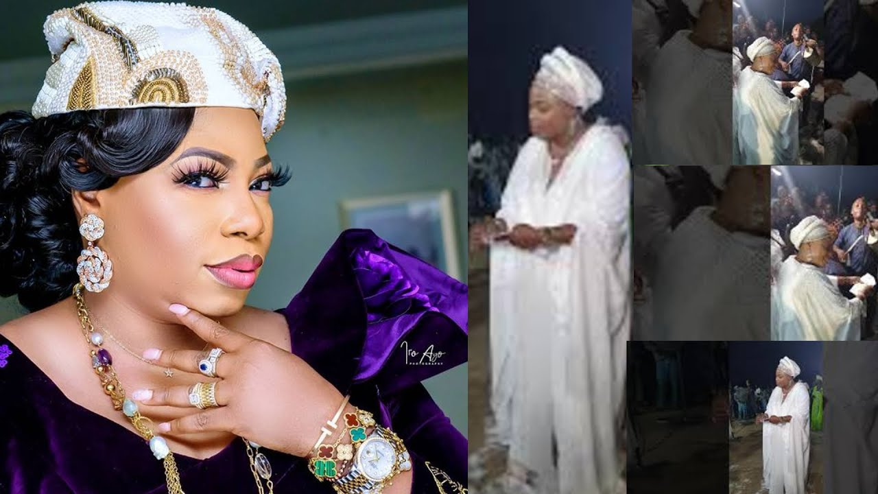 Download Money Rains At Havilah Mountain || Prophetess Mary Olubori Rains Naira On Adegbodu Twins