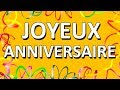 Happy Birthday (French Version) Mp3
