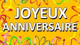 Happy Birthday (French Version)