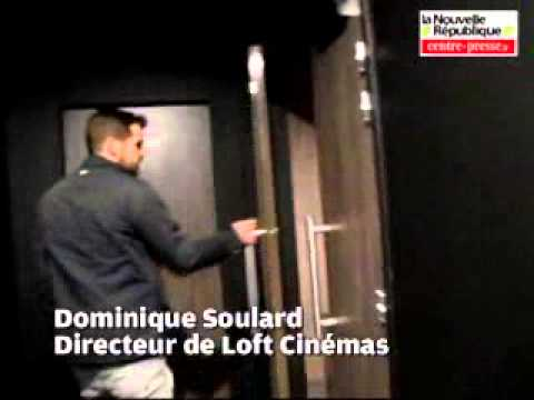 video ch tellerault le jour j approche pour loft cinemas youtube. Black Bedroom Furniture Sets. Home Design Ideas