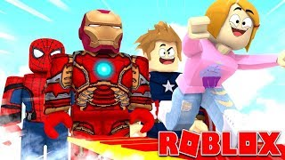 Roblox Superhero Adventure Obby With Molly!