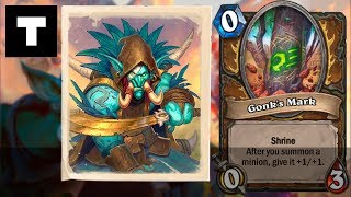 Hearthstone: Rumble Run | Druid | Shrines - Gonk