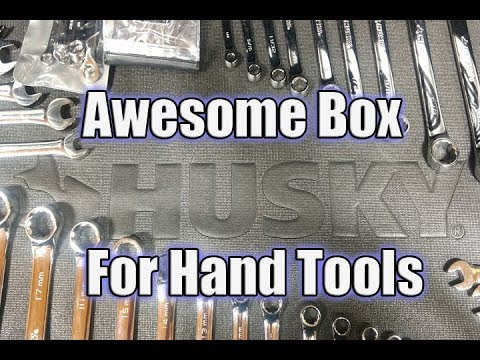 Husky 56 In 23 Drawer Tool Chest And Rolling Cabinet In Black Matte Review Youtube