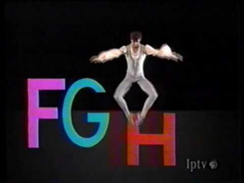 Sesame Street - Angel Corella Dances with the Alphabet (full version)