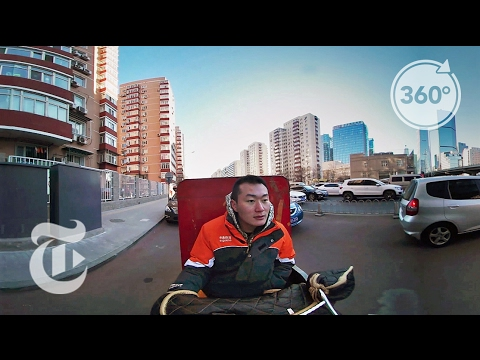 Take a Delivery via Beijing's Streets | The Daily 360 | The New York Times