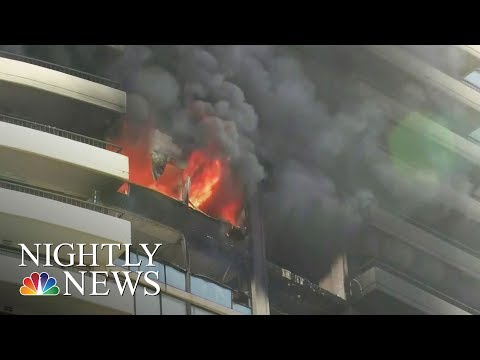 Honolulu Fire: At Least Three Killed In High-Fire Blaze | NBC Nightly News