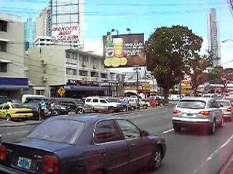 DOWNTOWN PANAMA CITY.