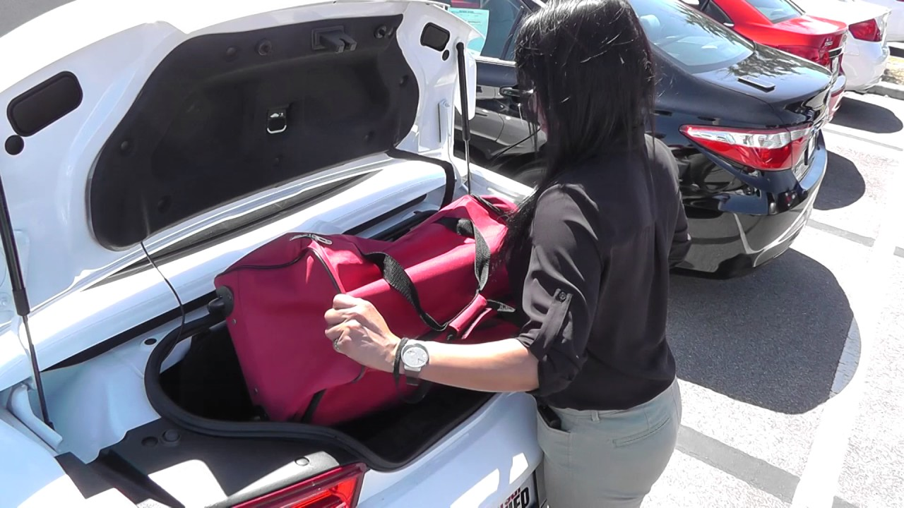 Trunk Space 2016 Chevrolet Camaro Lt Youtube