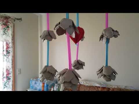 DIY easy Father's Day wind chime or decor for the house