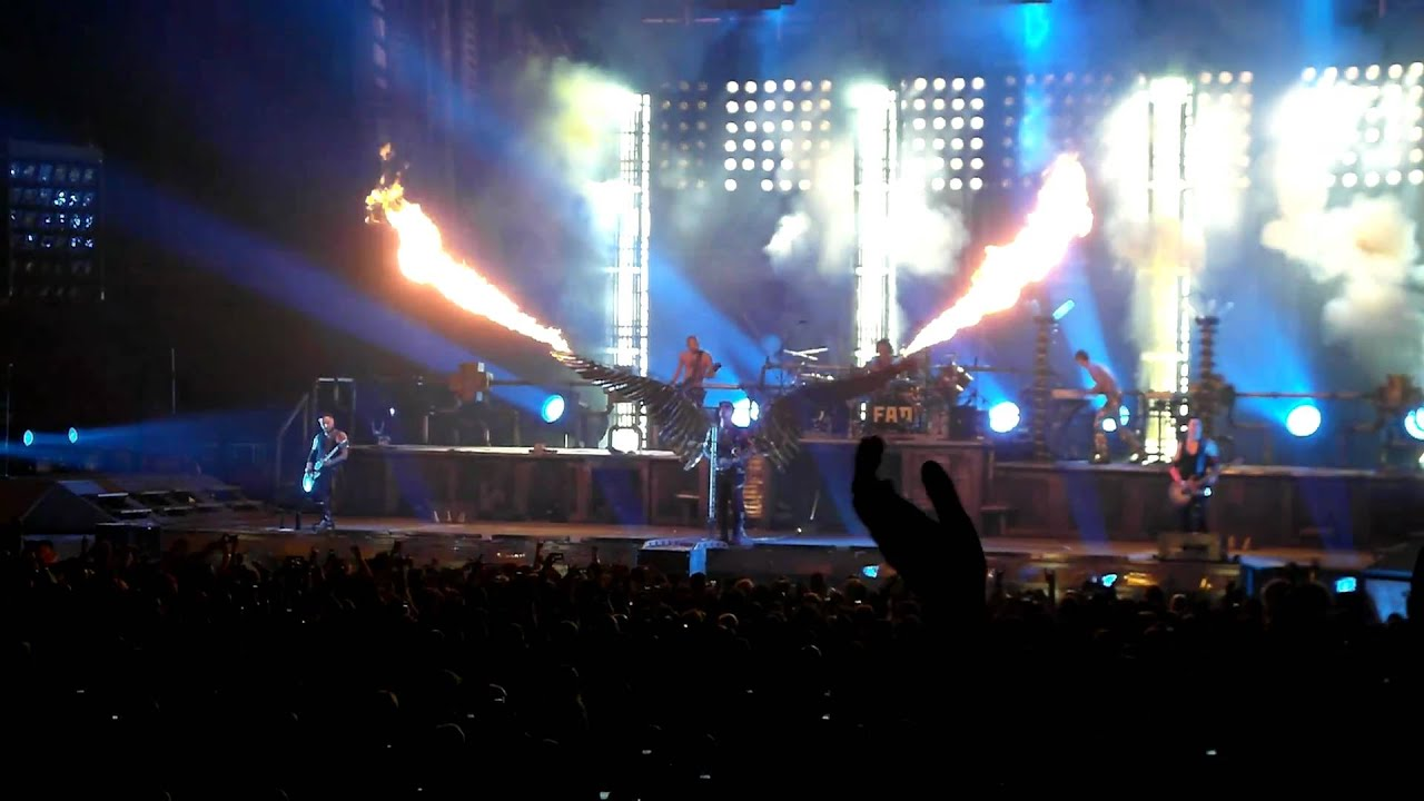 Rammstein Engel Live At Msg In Nyc 12 11 10 Youtube