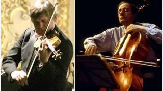 András Ágoston & Miklós Perényi - J.Brahms: Double Concerto in A minor, Op. 102  I.mvt  (live)