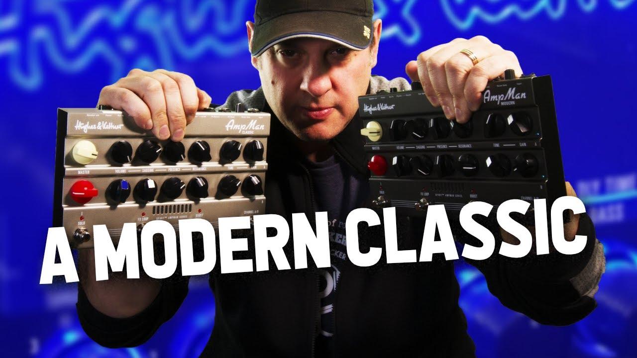 Hughes & Kettner AmpMan Classic and Modern