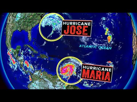 Hurricane Maria takes aim at the Caribbean islands