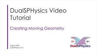 DualSPHysics Moving Geometry