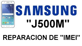 IMEI solutions empty Samsung J5 J500G done with BST - Видео