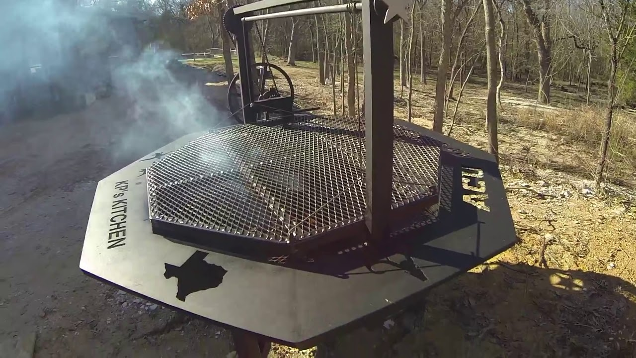7' Santa Maria Cowboy Fire Pit | Doovi