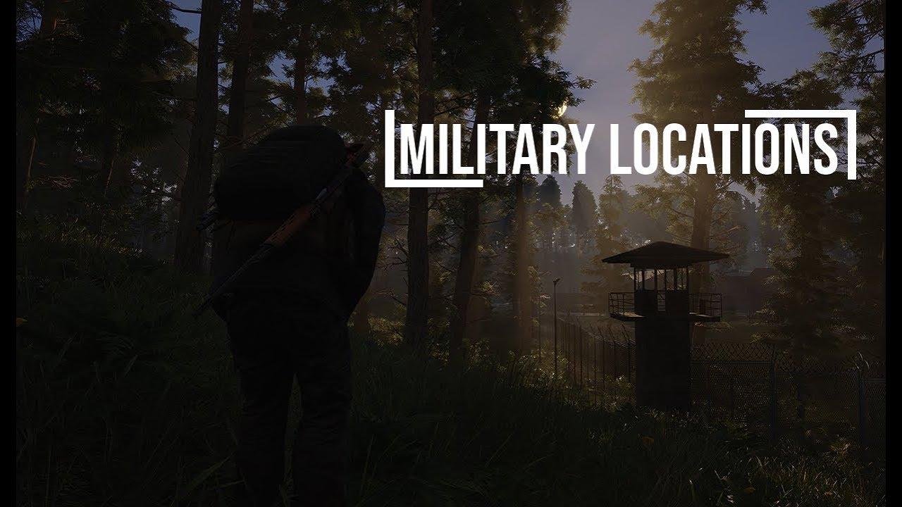 Scum Karte.Scum Military Base Location Guide