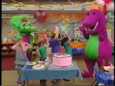 Power Rangers Spd Barney Friends Happy Birthday Song English