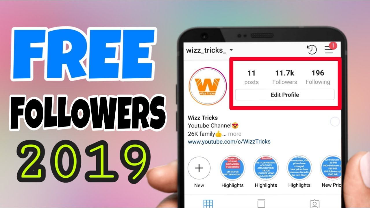 Free Followers On Instagram Without Verify | Free Insta Likes 50