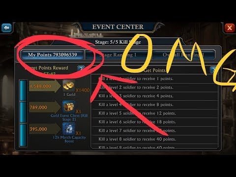 INSANE KvK.. 1.1B power killed!! 443 vs 134 King of Avalon