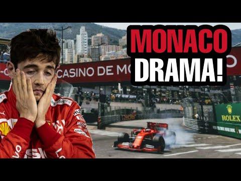 Leclerc UNSHOWN TEAM RADIO, Monaco GP DRAMA!