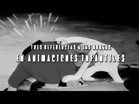3 referencias a las drogas en animaciones infantiles