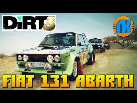 Dirt 3 \ FIAT 131 ABARTH \ НА РУЛЕ LOGITECH G27 \ ЛУЧШИЙ РАЛЛИЙНЫЙ АВТОСИМУЛЯТОР !!!