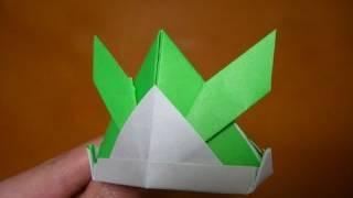 origami tsuno-kabuto