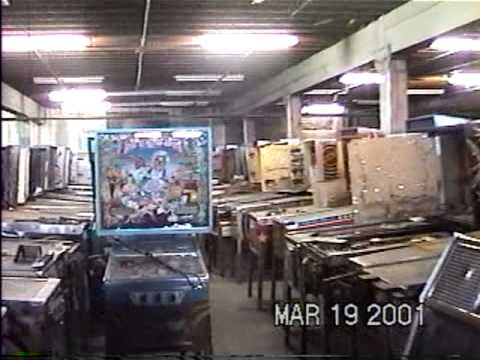 Large Arcade Warehouse Find in West Virginia in 2001