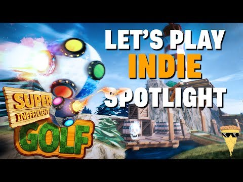 Golf & Explosions!!!!  | Super Inefficient Golf Full Playthrough | Let's Play Indie Spotlight