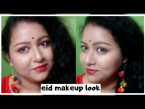 Eid makeup look 2k19 || easy and simple makeup ||beauty with brain