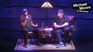 Tom Morello (Michael Moore on Broadway Interview)