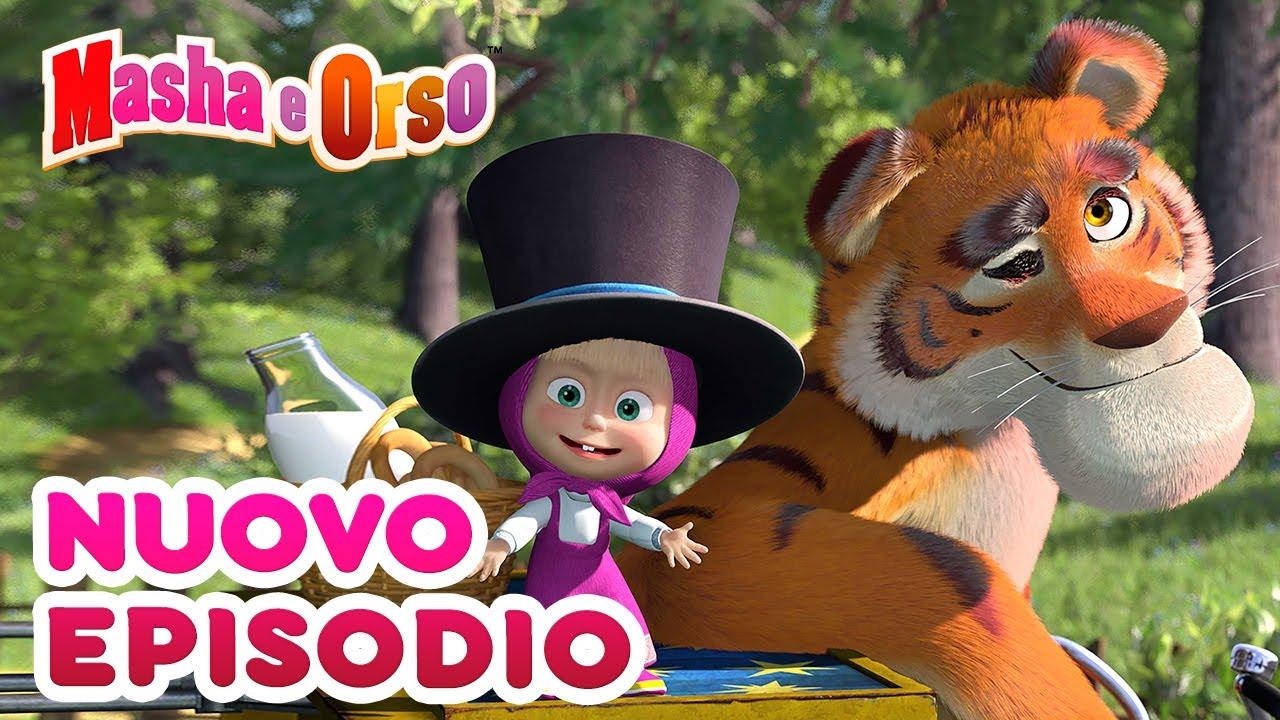 Masha e Orso - 💥 Nuovo episodio! 💥 Collezione di cartoni animati 🎬 Un Amico a Strisce 🐯