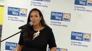 United Way of Roanoke Valley 2015 Campaign Kickoff