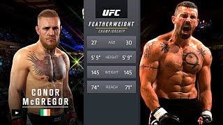 UFC 2 БОЙ Конор Макгрегор vs Юрий Бойка (com.vs com.)