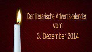 Das dritte Adventstürchen - Matthias Claudius
