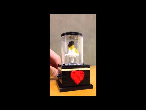 LEGO Ballerina music box 2014