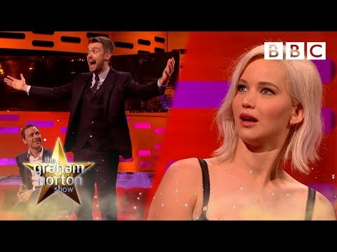 Jennifer Lawrence v Jack Whitehall - The Graham Norton Show - BBC