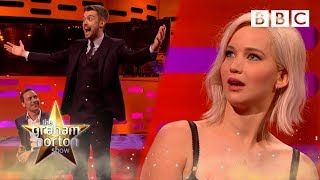 Is Jack Whitehall more famous than Jennifer Lawrence? 🤔 | The Graham Norton Show - BBC