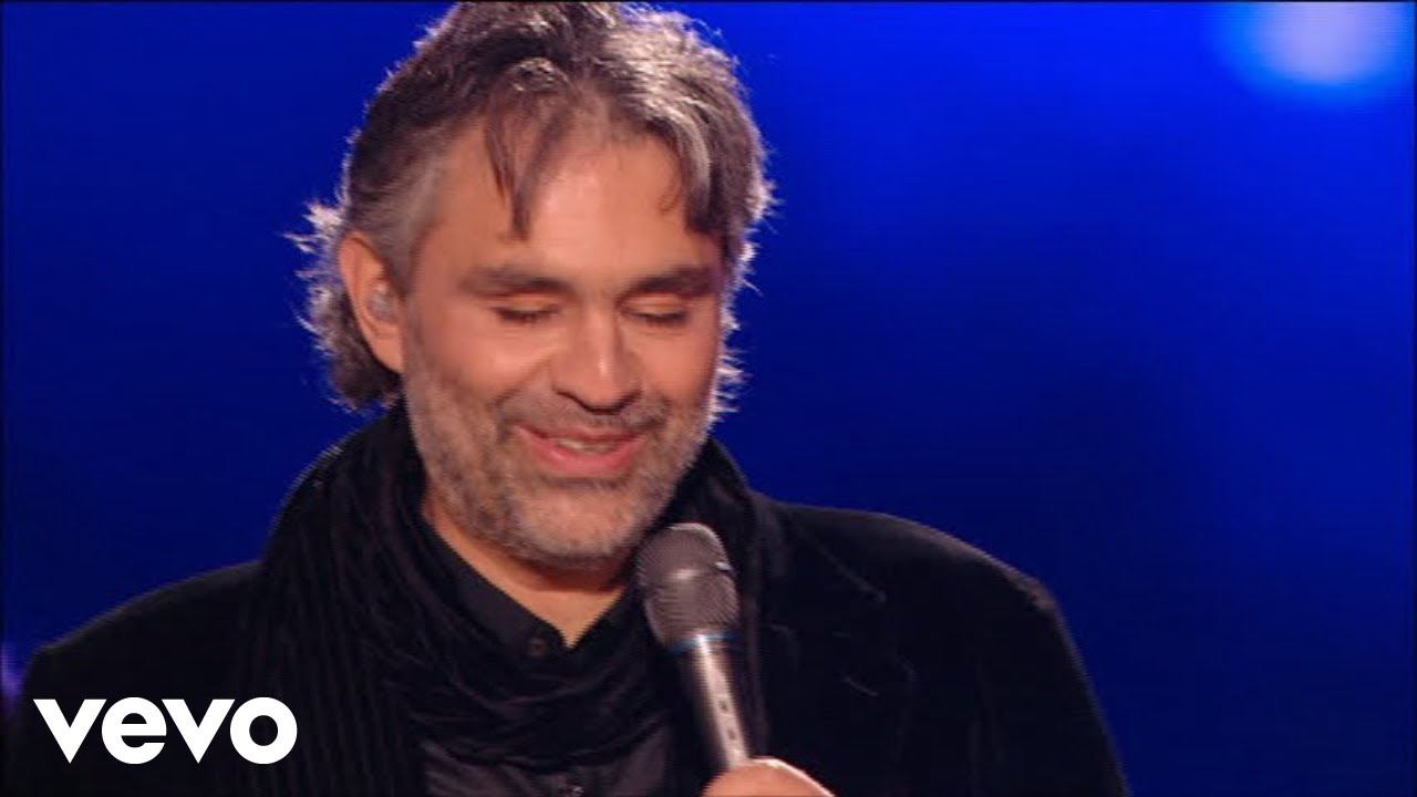 Andrea Bocelli – Can't Help Falling In Love (HD)