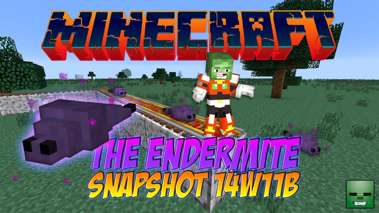 Minecraft 1.8 - Snapshot 14w11b: Endermite (Y como pegársela en un ...